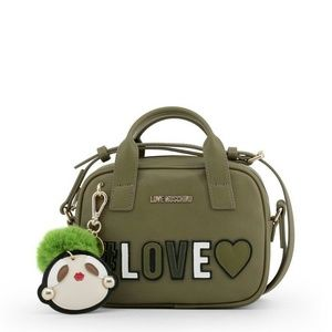 Love Moschino New Green Synthetic Leather Bag